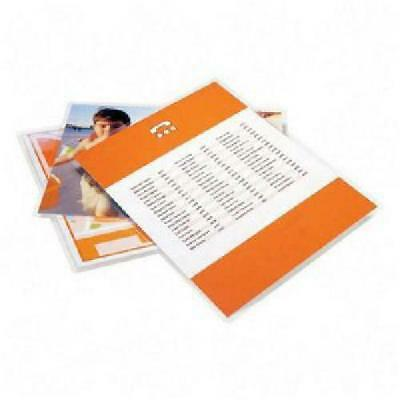 100 Pieces Letter Size Laminating Pouches Sheets 3 Mil 9 x 11 - 1/2 Free Sleeve