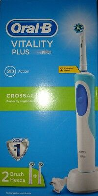 Oral-B Pro Vitality Plus Cross Action Electric Rechargeable Toothbrush