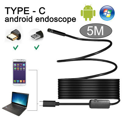2M Rigid Endoscope HD Inspection Camera + 3 in1 USB/Micro USB/Type C Waterproof