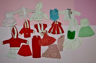 Vintage Tammy, Pepper, Penny Brite, Barbie Clone Mixed Clothing Lot