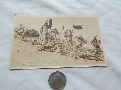 Custer Massacre Photo  By G Williams  Rare Have A Look M