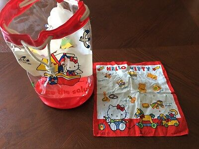 Vintage Hello Kitty Bag and Hankerchief