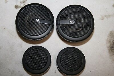 BMW E36 M3 3 Series Harman Kardon HK Top Hi Fi Mid Range Speakers Tweeters Black