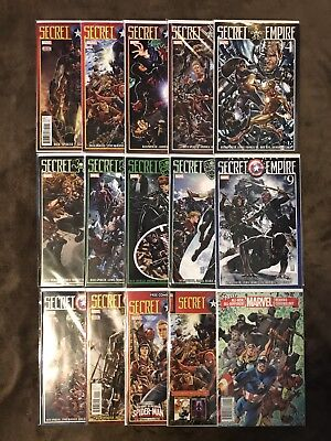 Secret Empire #0, #1-10 Complete + More! 1st Prints M/NM Marvel Spencer McNiven