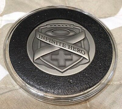 Oakley Infinite Hero Commemorative Coin Courage Honor Virtue Heroism