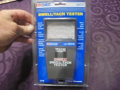 #30419 DWell/TACH TESTER BY CARQUEST-MAKE WAVES INSTRUMENT