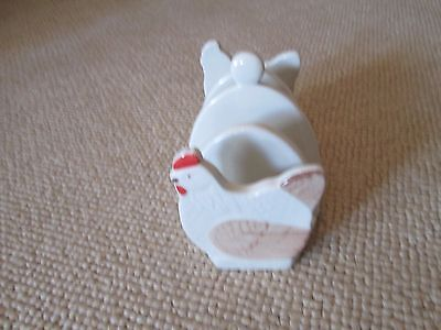 country side theme rooster/ chicken theme ceramic toast rack