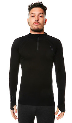 NEW XTM Mens Merino Thermal Baselayer w/ Zipneck DEFAULT Camping Outdoor