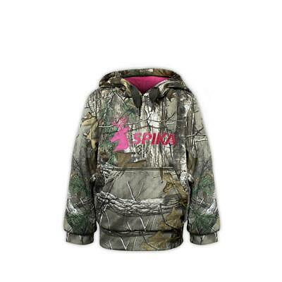 NEW Spika Hunter Girls Camo Hoodie Hunting Camping Outdoor