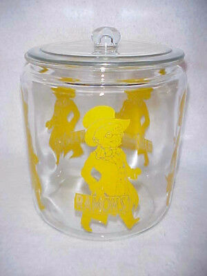 Vintage Ramon's Little Doctor Jar w/Original glass Lid,Tom's Lance peanut Store