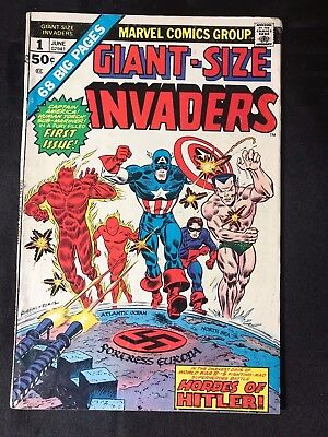 Giant-Size Invaders #1 Comic Book (Marvel,1975)