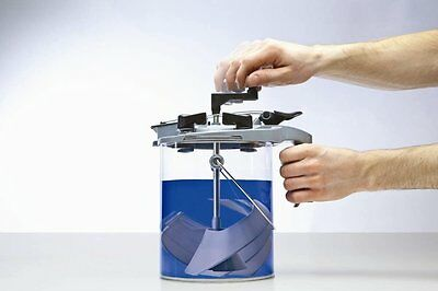 Mixing Mate Quart Size Paint Can Lid Spring Loaded Pistol Grip Free Shipping tv