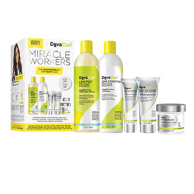 Deva Curl Miracle Workers - Wavy Holiday Kit. Brand NEW.