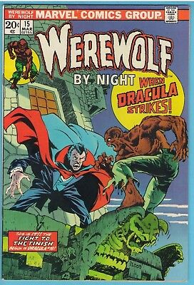 Werewolf by Night 15 Mar 1974 VF (8.0)