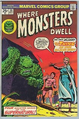 Where Monsters Dwell 30 Sep 1974 FI- (5.5)