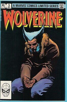 Wolverine Limited series 3 Nov 1982 NM- (9.2)