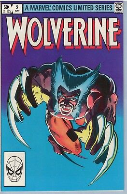 Wolverine Limited series 2 Oct 1982 NM- (9.2)