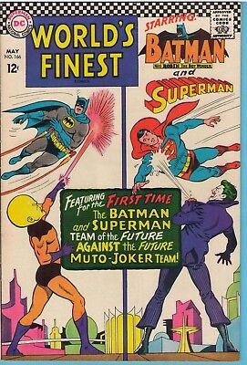 World's Finest 166 May 1967 VF- (7.5)