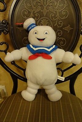 """Ghostbusters Stay Puft Marshmallow Man Plush 12"""""""