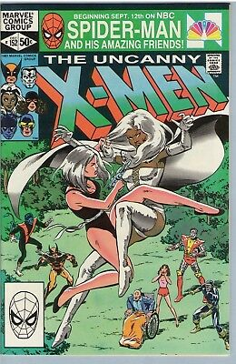 X-Men 152 Dec 1981 VF-NM (9.0)
