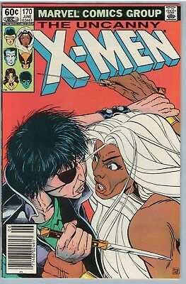 X-Men 170 Jun 1983 NM- (9.2)