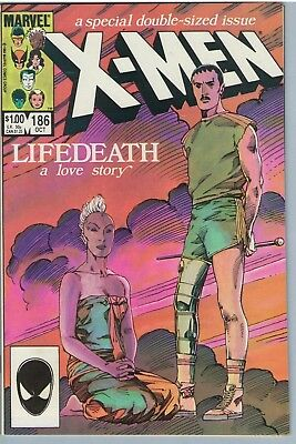 X-Men 186 Oct 1984 NM- (9.2)