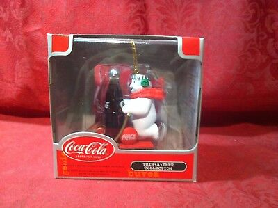 Coca-Cola Trim-A-Tree Collection Polar Bear Ornament