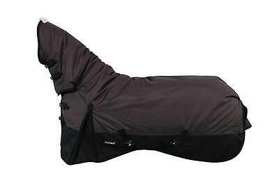 CHONMA 6'3'' 600D 250G Winter Waterproof BreathableTurnout Horse Rug Combo--A42b