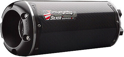 TBR Slip-On Carbon Fiber M-2 Silver Series 005-2130105V-S