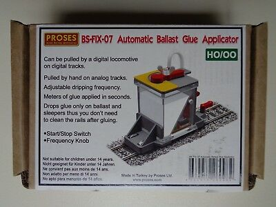 Proses BS-FIX-07 HO Gauge Ballast Glue Applicator Suit Peco, Hornby, Triang etc