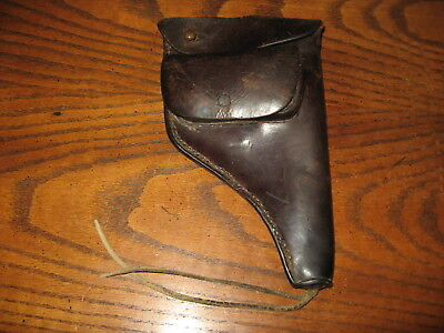 German Imperial Reichsrevolver leather holster 1883 berlin revolver reichs
