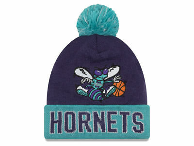 innovative design d25d9 e5497 ... purchase charlotte hornets new era nba hardwood court big reflective  knit hat osfa nwt 0f200 303d5