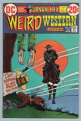 Weird Western Tales 17 May 1973 VF- (7.5)