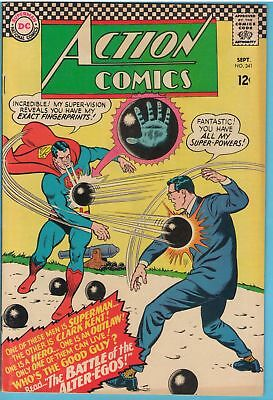 Action Comics 341 Sep 1966 FI+ (6.5)