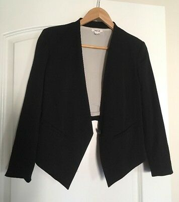 Helmut Lang Women Balzer 1 Button Tux Wool And Silk Lining