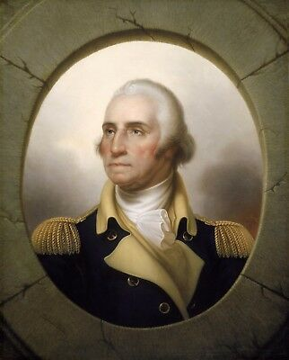 General George Washington At Mount Vernon High Gloss 8.5x11 Photo