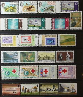 Tristan Da Cunha Collection, MNH OG, Complete Sets, All Never Hinged