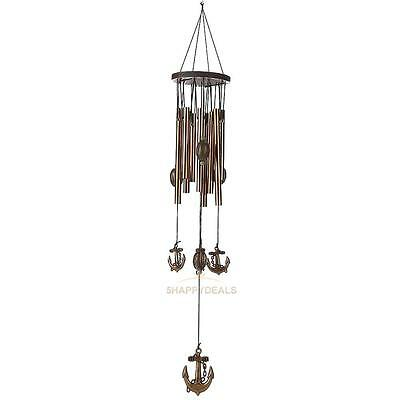 2017 New Wind Chimes Bells Copper Tubes Outdoor Yard Garden Home Decor Ornaments