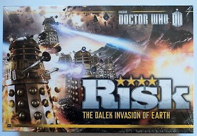 Risk Doctor Who The Dalek Invasion Of Earth - Science Fiction Board Game NEW