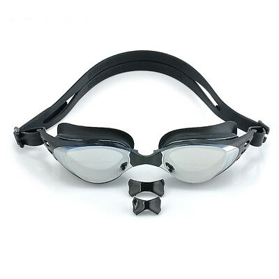 Professional Adult Non-Fogging Anti UV Swimming Goggles Glasses Eye Protect NEW