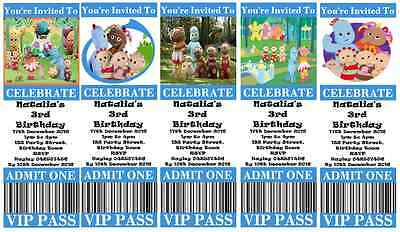Personalised In The Night Garden Birthday Party Invitations – In the Night Garden Birthday Invitations