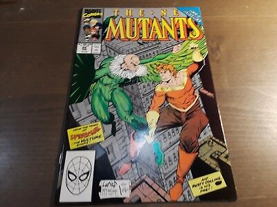 The New Mutants #86 (Feb 1990, Marvel) 1st brief app Cable
