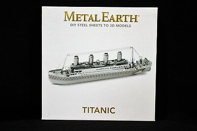 Metal Earth Fascinations 3D Model Titanic Luxury Steamship