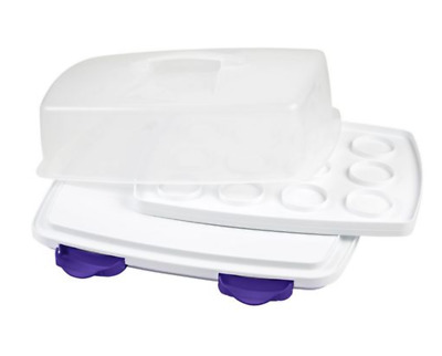 Wilton 3-in-1 Cake Cupcake Muffin Caddy, Baking Decoration Accessories NEW