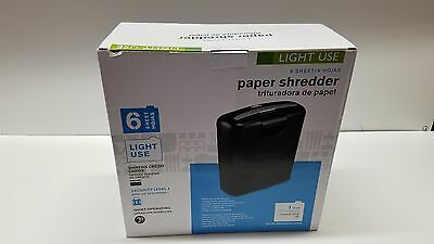 6 Sheet Papper Shredder