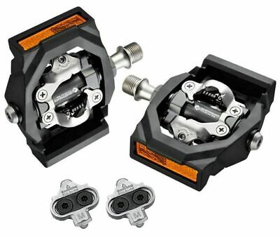 Shimano PD-T700 Premium CLICK'R Clipless Mountain Bike Bicycle SPD Pedals Cleats