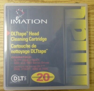 IMATION 51122 12919 DLTape Head Cleaning Cartridge DLT 2000 2700XT 4000 7000