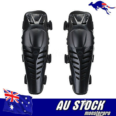 Knee Shin Armor Protector Guard Pads Gear For Bike Motorcycle Motocross Racing
