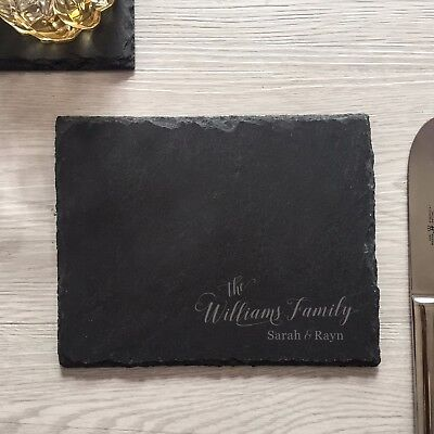 engraved personalized custom cutting board tray wedding gifts for new couple