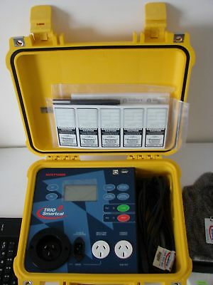 Portable Applicance Safety & RCD Tester, Memory, Scanner